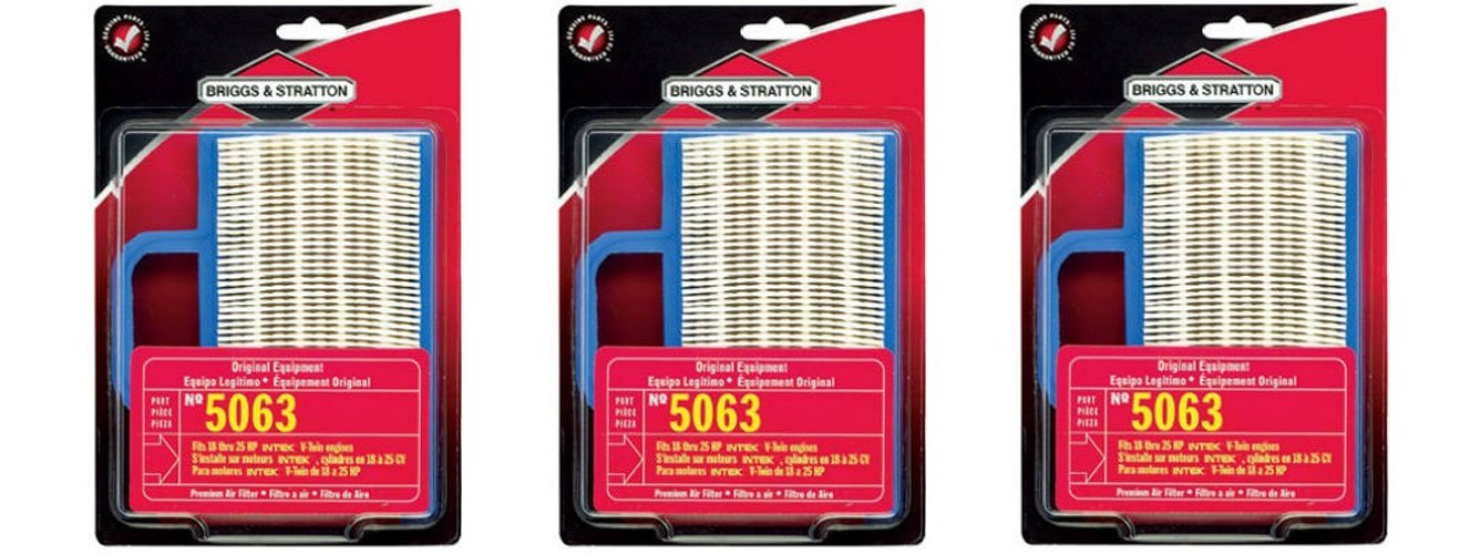 Briggs Stratton Air Filter 18 26 HP Intek V Twins 5063K