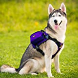 Ondoing Dog Backpack Adjustable Dog Saddle Bag