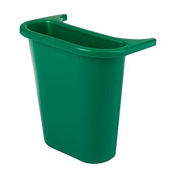 Rubbermaid Commercial FG295073GR Trash Can Recycling Side Bin ...