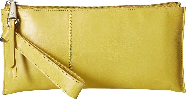 Hobo Womens Leather Vintage Vida Clutch Wallet (Lemongrass)