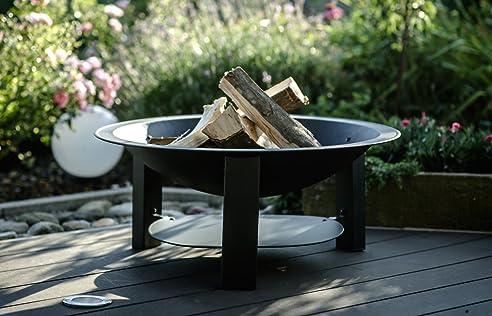 Moderne Feuerschale, Feuerkorb, Feuerstelle, aus Gusseisen Ø75cm ...