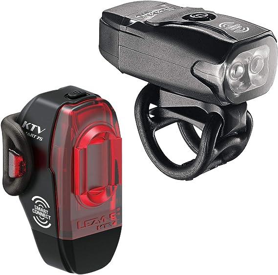 LEZYNE KTV Pro Smart Bike Light Set LED Programmable Lights