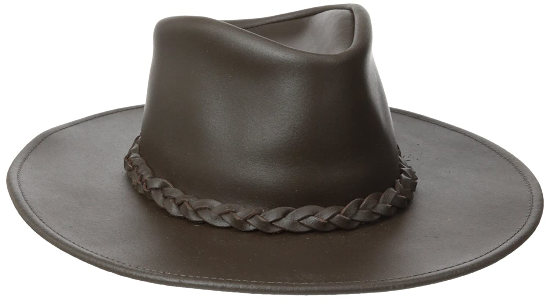 Henschel Australian Leather Hat with Braided Band Henschel Hats