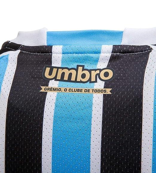 Camisa Umbro Grêmio Oficial 1 2018 com Nº 10 (Game)  Amazon.com.br  Amazon  Moda 3caa12402726b