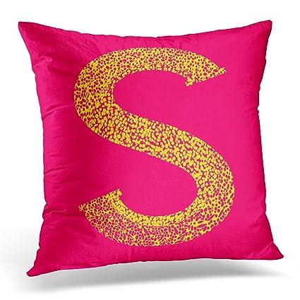 Amazon.com: Emvency Decorative Pillow Cover Colorful ABC ...