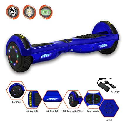 b990eaae998 SMART BALANCE 6.5 quot  HOVERBOARD WITH BLUETOOTH - UL 2272 - UN 38.3  SAFETY CERTIFIED PERSONAL