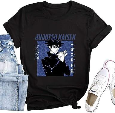commix.x Anime Jujutsu Kaisen Shirt Unisex Personalized Tshirt Merch Women Girls Men Tees