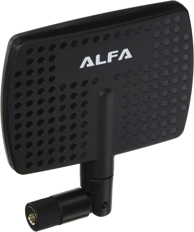 Alfa Network APA-M04 2.4GHz 7 dBi Alta Ganancia direccional Interior Panel Antena con Conector RP-SMA