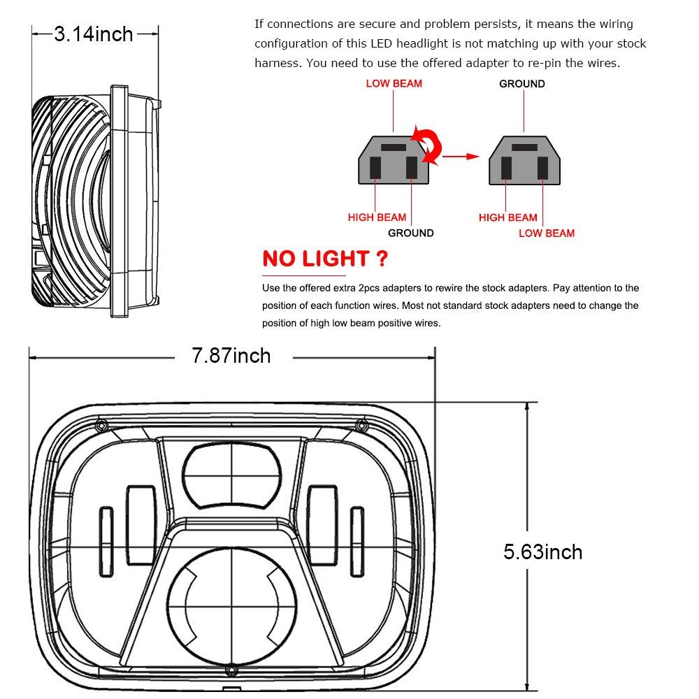 H6545 Headlight Wiring Diagram | Wiring Resources 2019 on