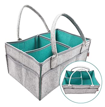 Amazon.com: Cesta para pañales de bebé/bolsa para bebé/cubo ...