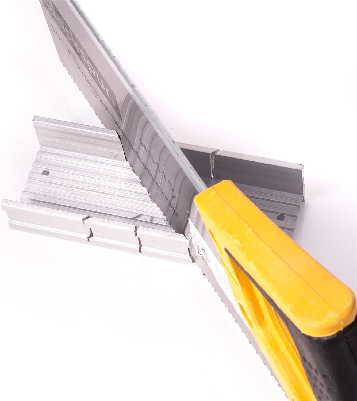 Pequeña caja de corte a inglete de precisión de madera para cortar ...