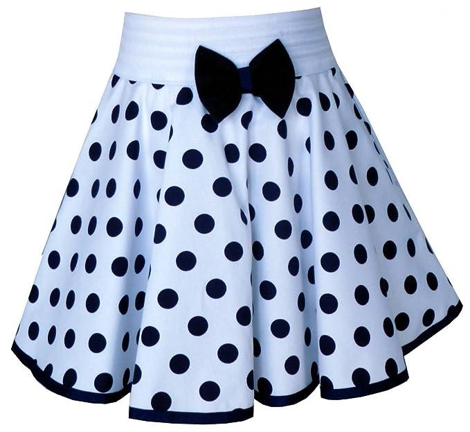 Trocadero - Mode für Kinder - Falda - Lunares - para niña Weiß ...