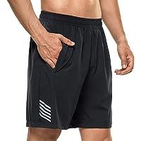DAFENP Pantalones Cortos Hombre Deporte Running Shorts Deportivos Correr Atletismo Fitness Training Pantalon Corto…