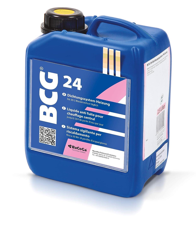 Bevorzugt Flüssigdichtmittel BCG 24 (2,5 l) gegen Leckagen in Rohrleitungen TS49