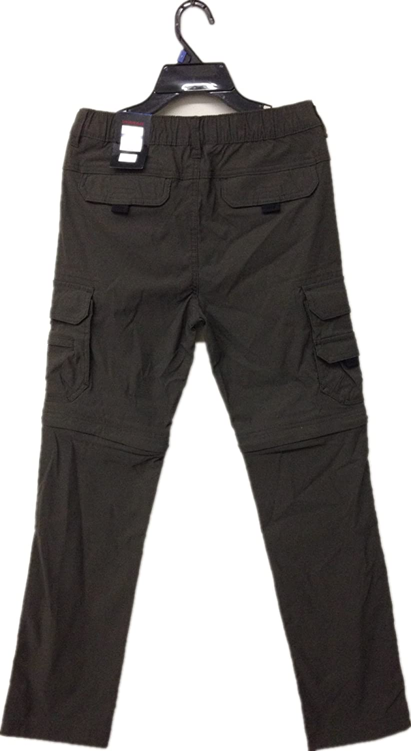 14//16 Dk Reptile, Large UNIONBAY BOYsConvertible Lightweight Comfort Stretch Cargo Pants