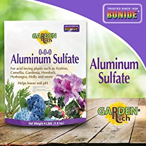 Bonide Products INC 705 037321007050 Aluminum Sulfate