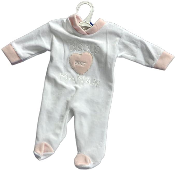Bebe Caramel - Pijamas enteros - para bebé niña Rose 6 Meses