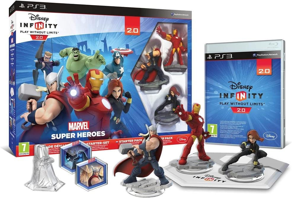 Disney Infinity 2 - Marvel Sh Starter Pack: Amazon.es: Videojuegos