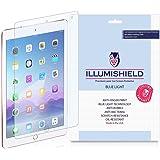 "iPad Pro 9.7"" Screen Protector [1-Pack], iLLumiShield - (HD) Blue Light UV Filter / Premium Clear Film / Anti-Fingerprint / Anti-Bubble Shield - Lifetime Warranty"