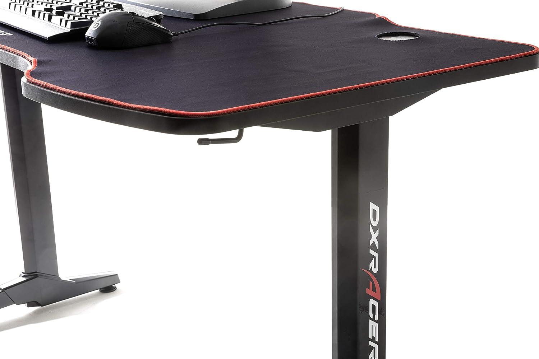 Nero DX Racer 1 Robas Lund 40188SW3 Tavolo da Gioco Desk