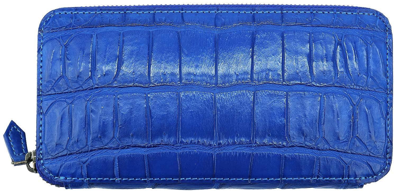[QUATTRO GATTI クアトロガッティ] クロコダイル ラウンドジップ 長財布 8101 ROYAL BLUE(ロイヤルブルー) B07L82DH2Z  F