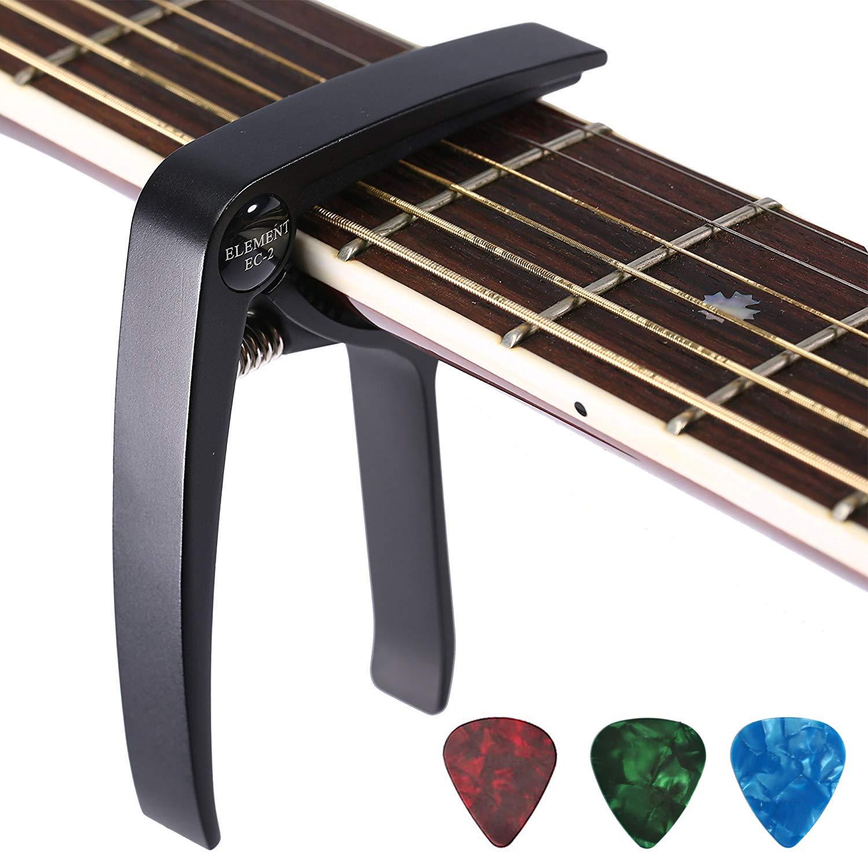 Asmuse™ Trigger Cejilla Guitarra Española Electricas Clásica Electrica Acustica Clasica Folk Ukelele Bajo instrumento guitar
