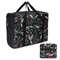 Foldable Travel Tote Bag Waterproof High Capacity Portable Storage Luggage Bag