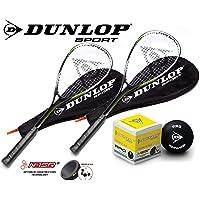 Dunlop Biotec Titanium - Raqueta de squash (opciones nidas)