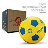 """Chastep 8"""" Foam Soccer Ball Perfect for Kids or Beginner Play and Excercise Soft Kick & Safe"""