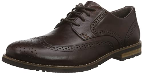 ec790038038b1 Rockport Lh2 Wing Oxford M79079 Dark Brown Shoes UK: 12.5: Amazon.ca ...