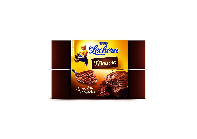 La Lechera, Postre lácteo (Chocolate) - 4 de 59 ml. (Total 236 ml.): Amazon.es: Alimentación y bebidas