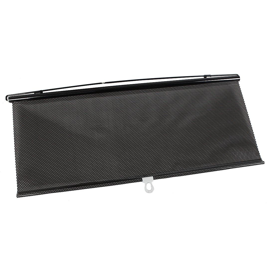sourcing map Rideau Fen/être Voiture Noir UV Protection Soleil R/ésistance /à Chaleur 125x68cm