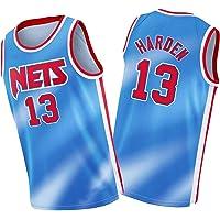 2021 Nueva Temporada Brooklyn Nets 13# James Harden Blue City Edition Jersey, Youth Soul Swingman Jersey, unisex sin…