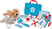 Melissa & Doug Examine & Treat Pet Vet Play Set - The Original (24 Pieces, Great Gift for Girls and Boys - Kids Toy Best for
