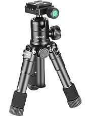 """Neewer 10089287 - 50 cm Mini Trípode Portátil con Cabeza de Bola de 360 Grados, 1/4"""" de Placa de Liberación Rápida, Bolsa para Cámara DSLR, Videocámara hasta 5 kilogramos"""
