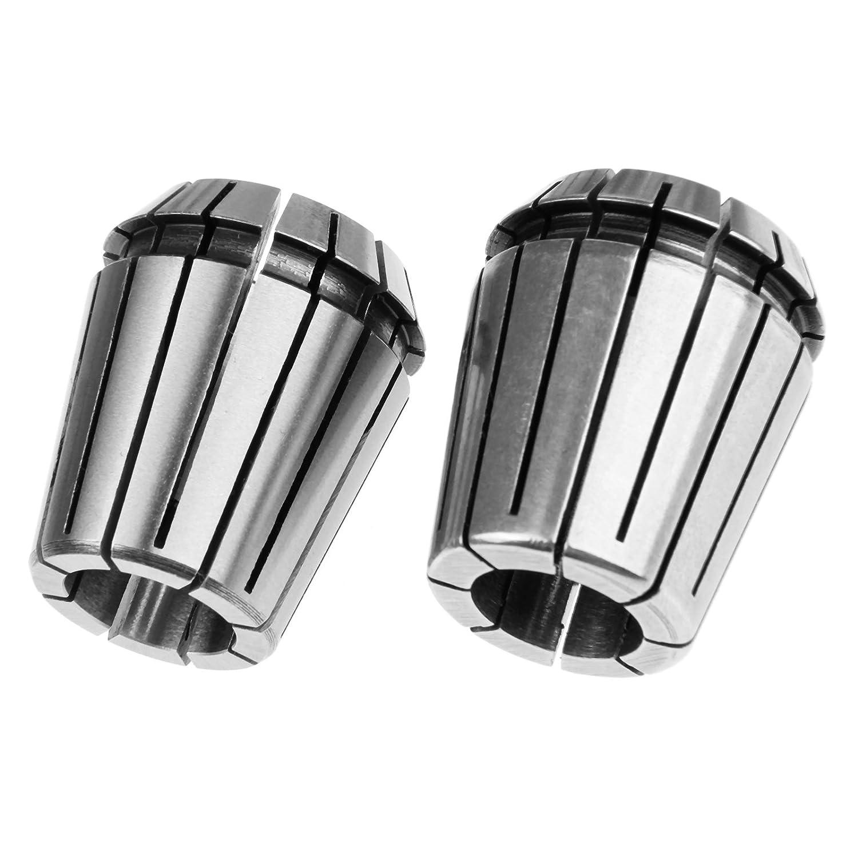 2/ argento /mm ER32/Chuck acciaio pinze per fresatura CNC tornio Tool e Workholding incisione