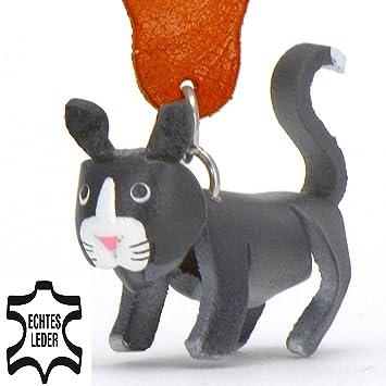 Bombay gato Bashira - Perro figura llavero de cuero en el juguete mimoso / animal de peluche / animal ...