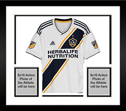 9ad56174b Framed Jonathan Dos Santos LA Galaxy Autographed Match-Used White  8 Jersey  from the 2018 MLS Season - Fanatics Authentic Certified at Amazon s Sports  ...