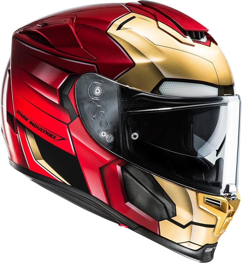 HJC Casque Moto RPHA 70 Ironman Homecoming Taille M Rouge//Or