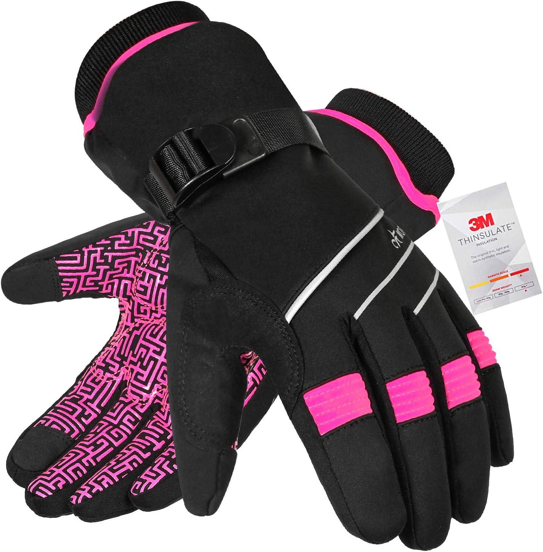 MOREOK Waterproof & Windproof Winter Gloves