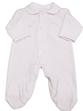80c78012cf24 BNWT Tiny Baby NB Premature Preemie Baby White or Pink Cotton ...