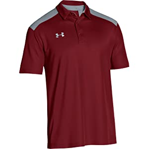 Under Armour Mens UA Team Colorblock Polo