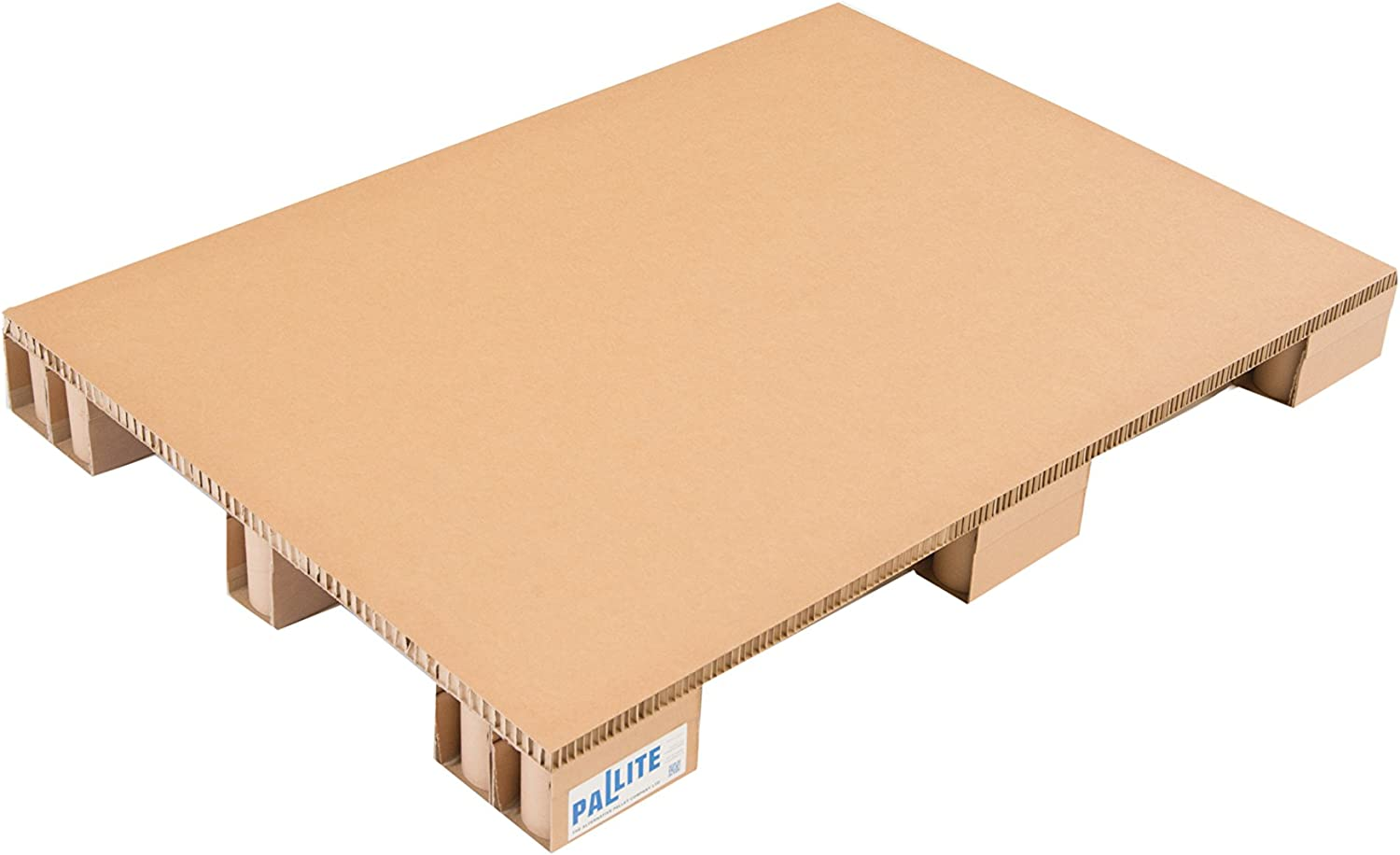 Lightweight Corrugated Pallet Heavy Duty 800 x 1200mm Euro Size No Frame