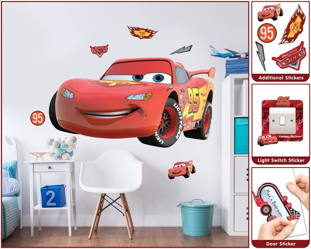 Disney Stickers Cars Lot of 5