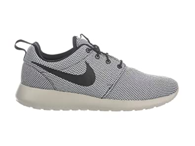 detailed look 7855c 3d8f8 NIKE Men s Roshe One Black Pure Platinum Pale Grey Nylon Running Shoes 8 D