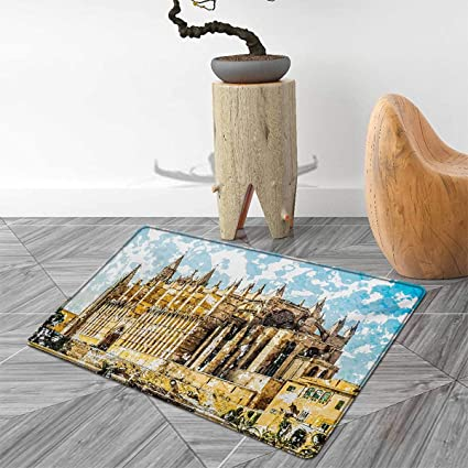 Amazon.com: Gothic Door Mats for Home Big Gothic Building ...