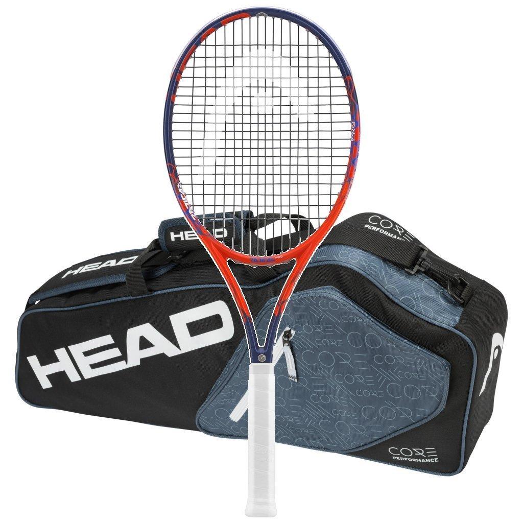 ヘッド2018 GrapheneタッチRadical Pro Tennis ヘッド2018 Racquet – Strung – B01G5Y325E with 3ラケットバッグ 37994 B01G5Y325E, 越前名産工房:469a30a5 --- cgt-tbc.fr