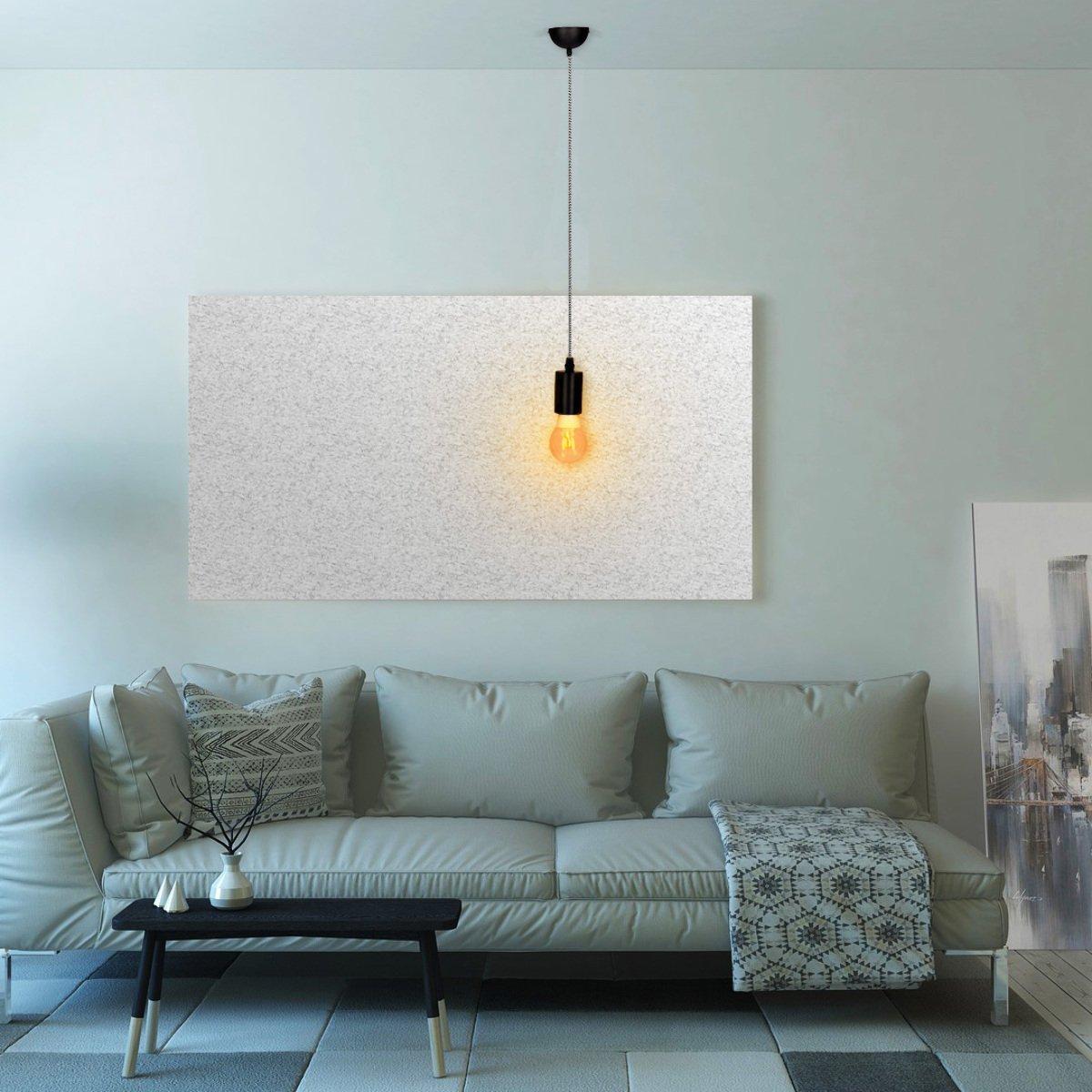 kwmobile 2x câble électrique pour lampe - Câble avec douille E27 bague de  fixation et support - Monture ... 9cb503f25c9a