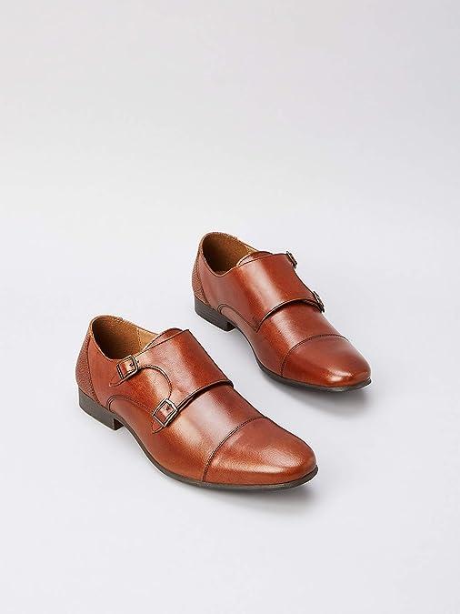Marca Amazon find. Hombre Zapatos de cordones derby