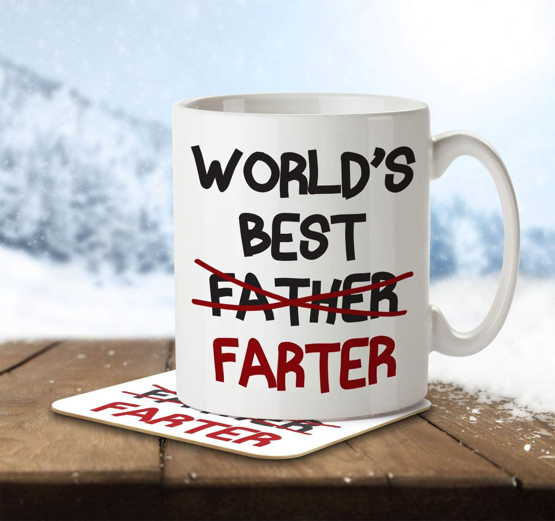 World's Best Farter (Father) Mug for Dad